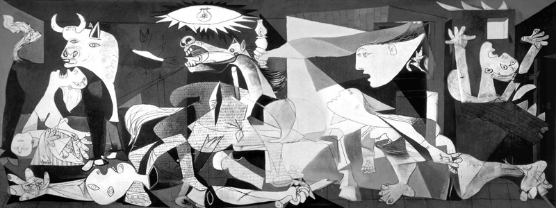 Guernica by P. Picasso